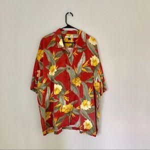 Tommy Bahama Silk Hawaiian Shirt
